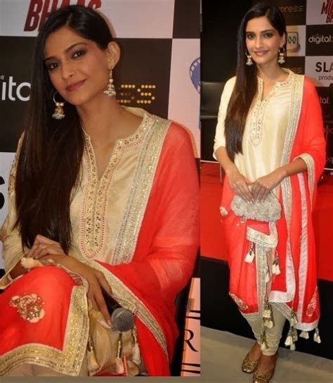 Sonam Kapoor Wear Beautiful Indian Bollywood Fashion