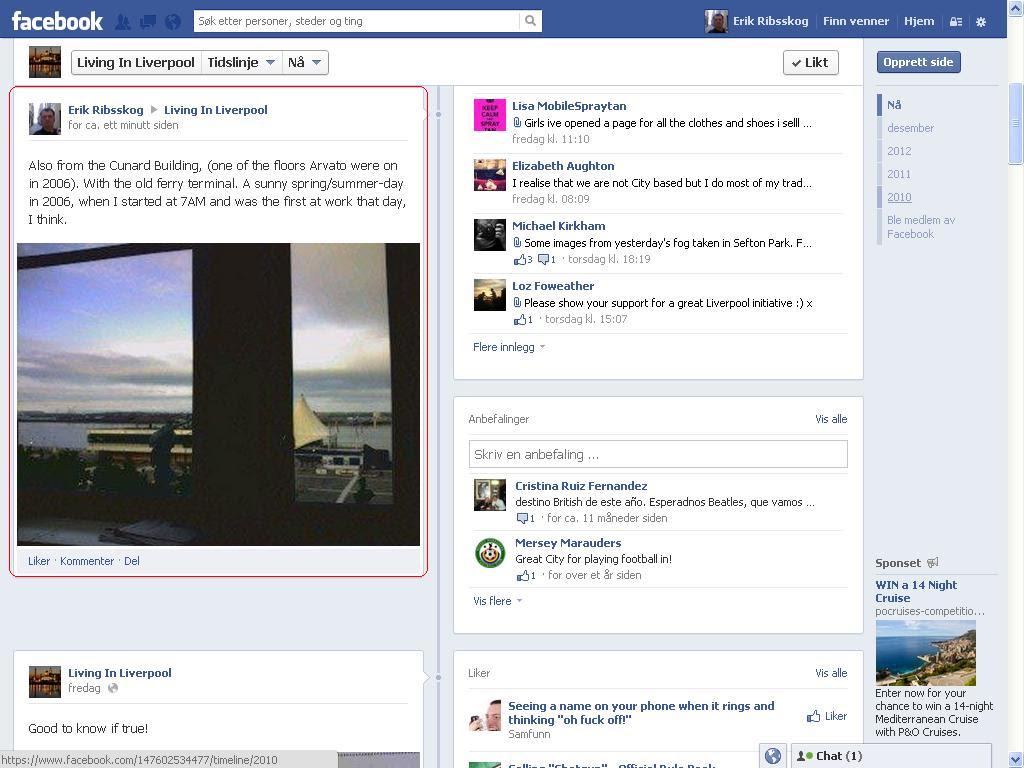 facebook first at work