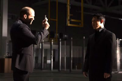 Jason Statham and Jet Li in WAR.