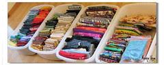 stoffrydding : #3 : declutter fabrics