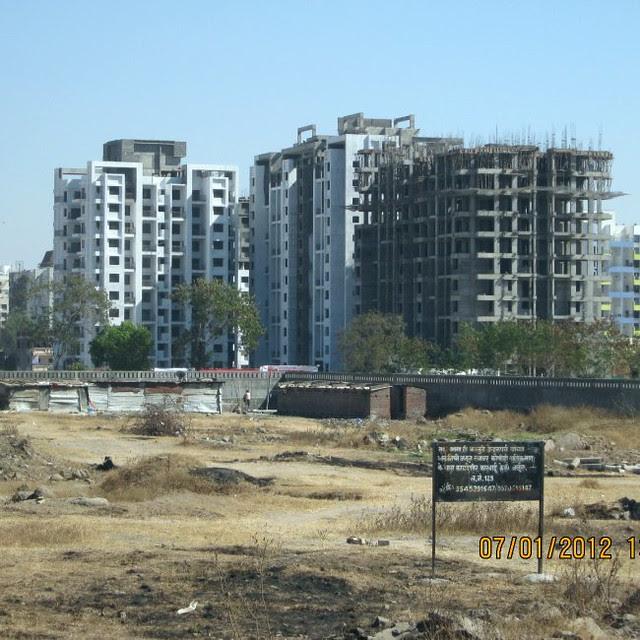 'Horizons at Wakad' Pune on the day of launch of 'Skyline at Wakad'
