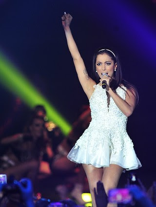 Anitta faz balanço de fim do ano (Foto: divulgação / TV Globo)
