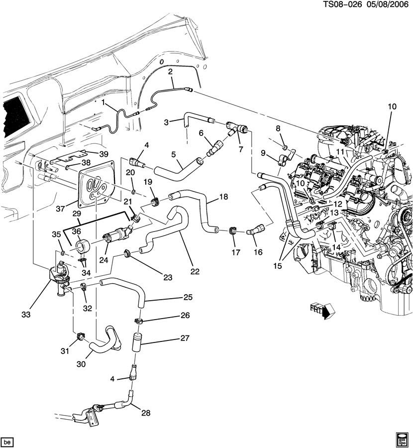 2000 chevy blazer engine diagram