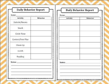 1000+ ideas about Preschool Daily Report on Pinterest | Name ...