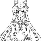 Les Coloriages De Les Sailor Moon