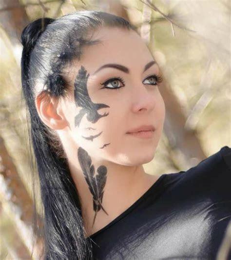 top face tattoos