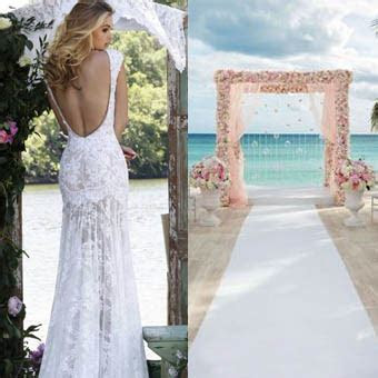 Getting Married Abroad?   Beach Wedding Dresses by Molly