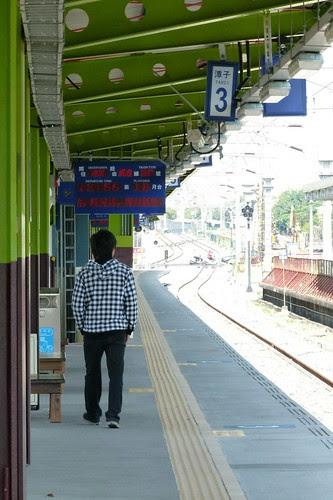 潭子站臨時月台