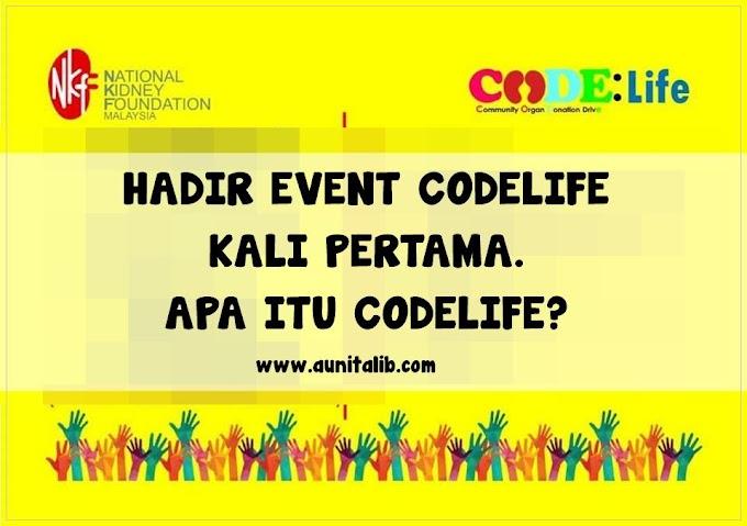 HADIR EVENT CODELIFE KALI PERTAMA. APA ITU CODELIFE?