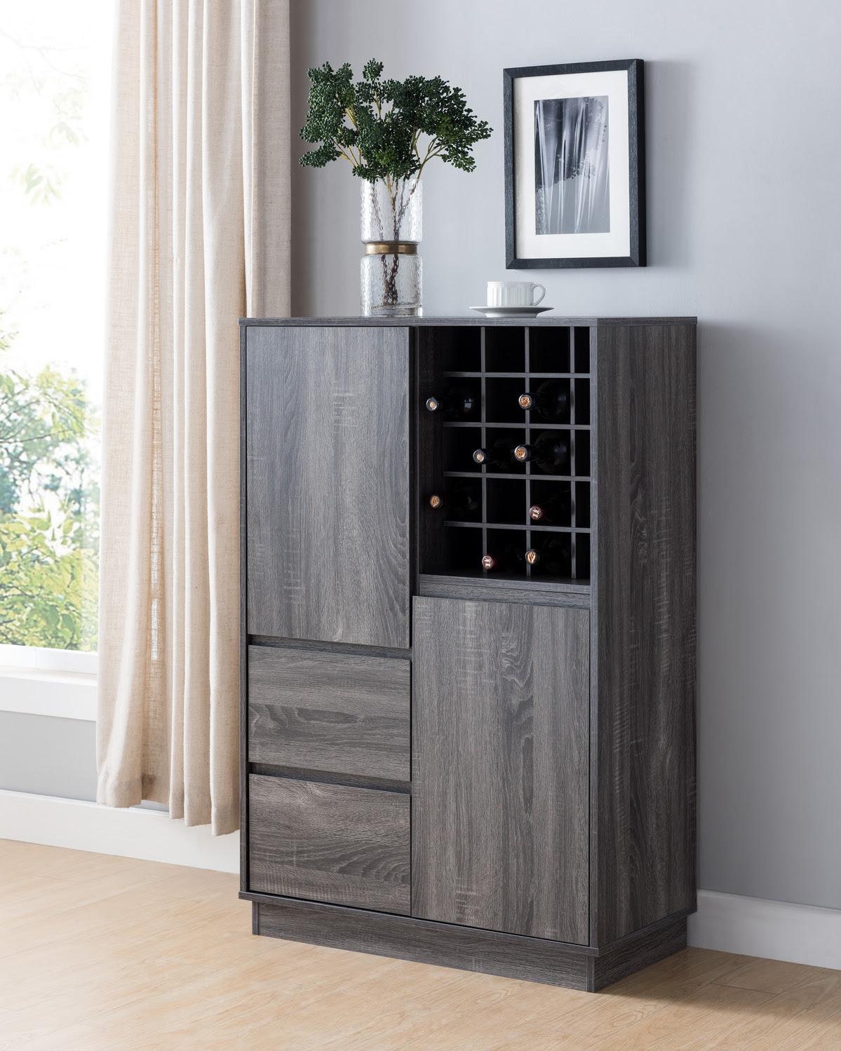 182285 Wine Rack/Storage Cabinet - Furniture Mattress Los ...