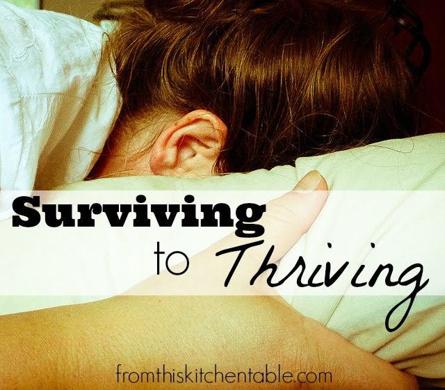 5 steps to go from surviving to thriving
