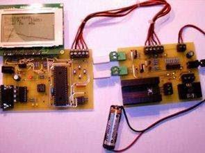 PIC16F876 PIC16F877 NiCd NiMH Bộ sạc pin mạch