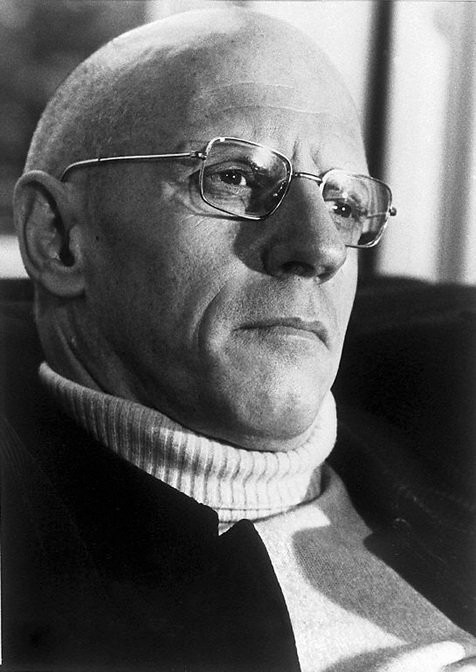 Photo non datée prise à Paris, du philosophe Michel Foucault.