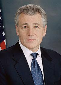 {{w|Chuck Hagel}}, U.S. Senator from Nebraska.