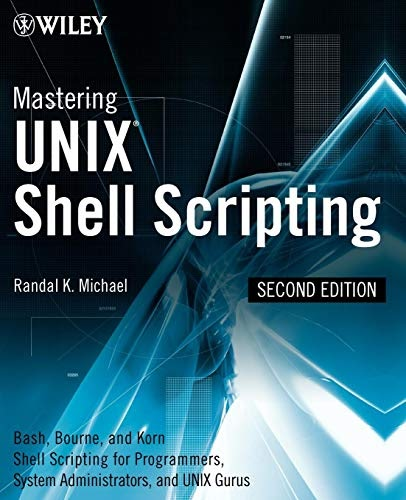 Mastering unix shell scripting pdf