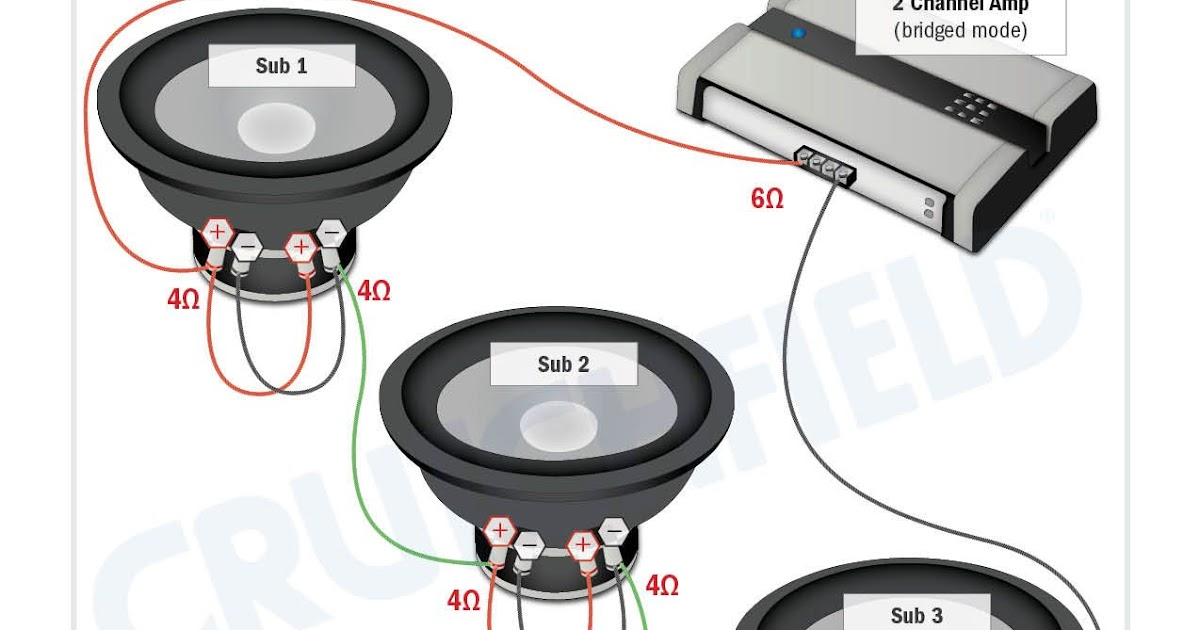 Dvc 4 Ohm Dual Voice Coil Wiring Diagram