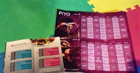 empowermoms  printable piyo food diary   day