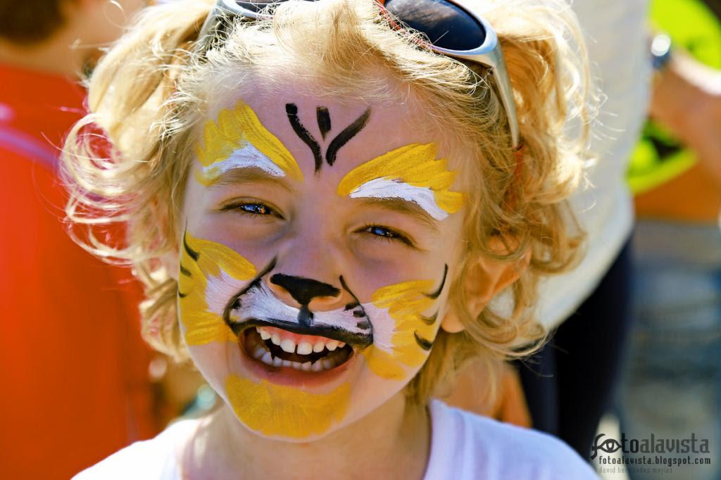El tigre no es tan fiero como lo pintan. Fotografía creativa - Fotografía decorativa - fotografía infantil