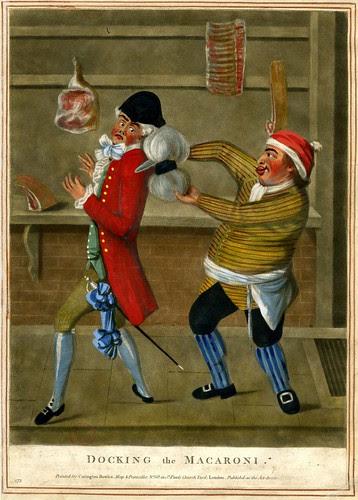Docking the Macaroni 1773