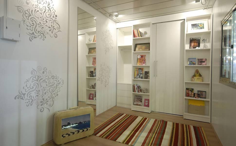 criando solu es m veis multifuncionais otimizam o aproveitamento da casa. Black Bedroom Furniture Sets. Home Design Ideas