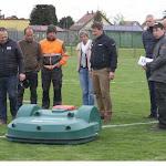 Sport et loisirs. Une tondeuse robot pour le club de foot de Andolsheim