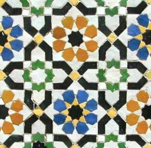 Morocccan Zellij tile