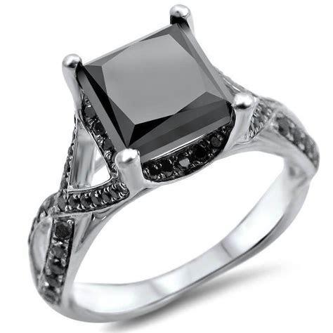 20 Unique Black Diamond Engagement Rings For Women   Live