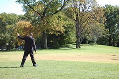 President Barack Obama Departing White House S...