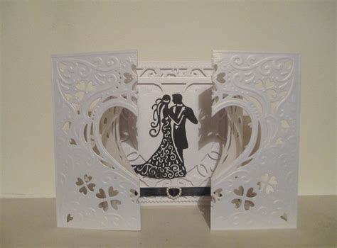 WEDDING CARD   Die'sire create a card 'Romance' die