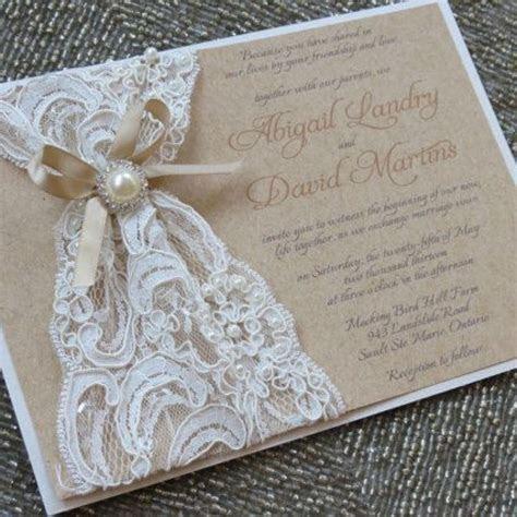 Fabulous Diy Lace Wedding Invitation Kits with Diy Lace