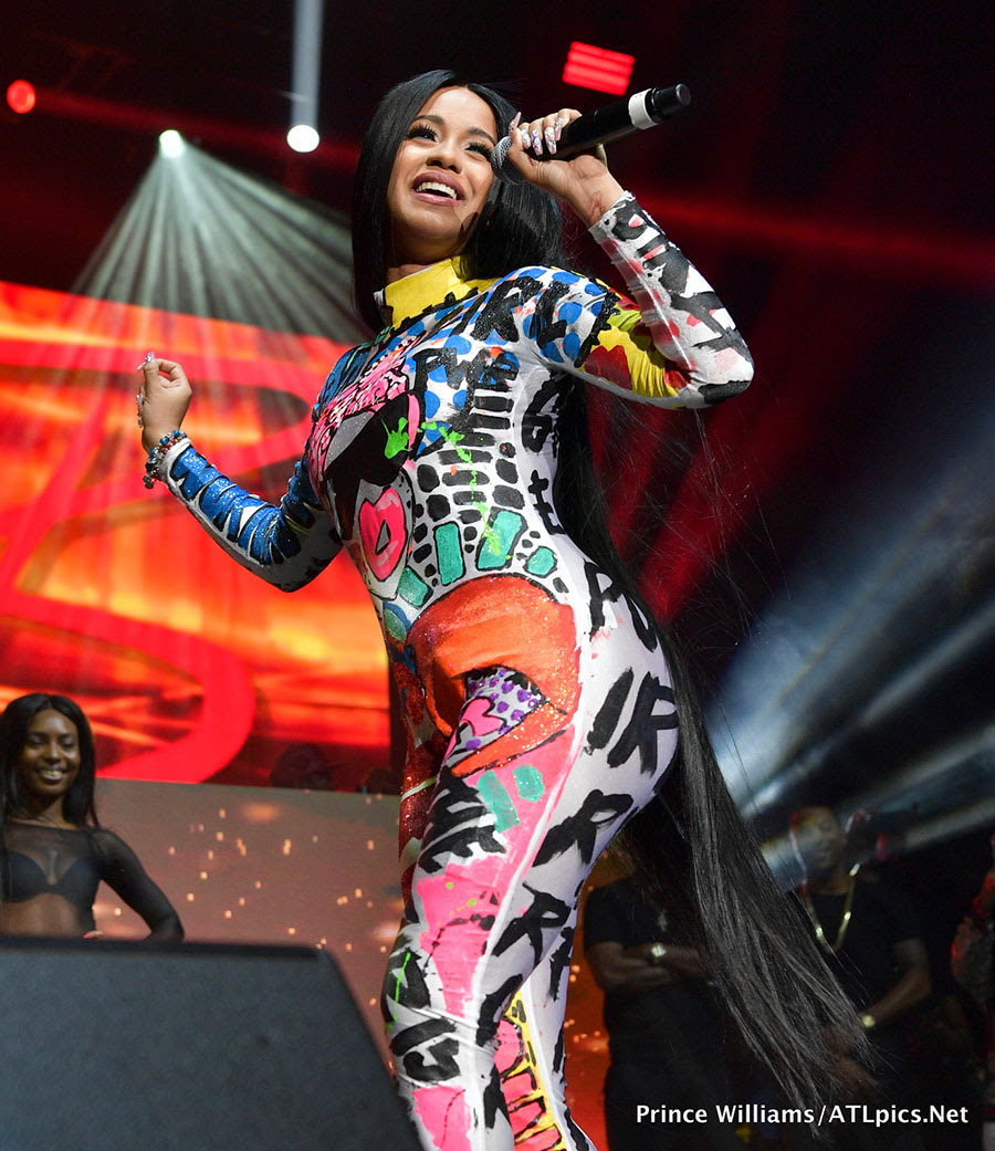 PICS: Cardi B headlines 94.5 Streetz Music Fest and hosts after party at Compound in Atlanta