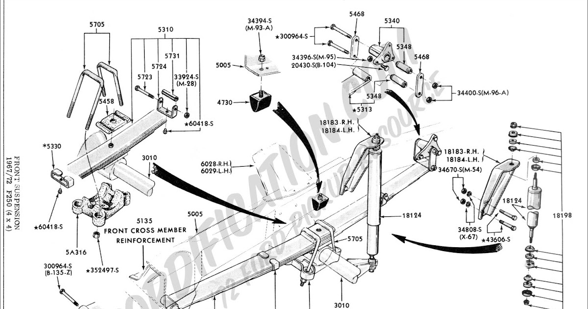Wiring Diagram: 31 F350 Front Suspension Diagram