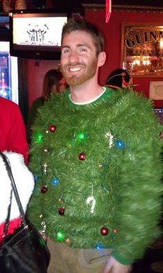 Ugly Christmas Sweater - SantaCon - NYC 2011 - Three Many Cooks