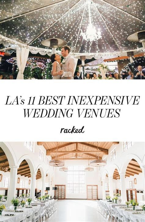 15 of the Most Inexpensive LA Wedding Venues   Rocks