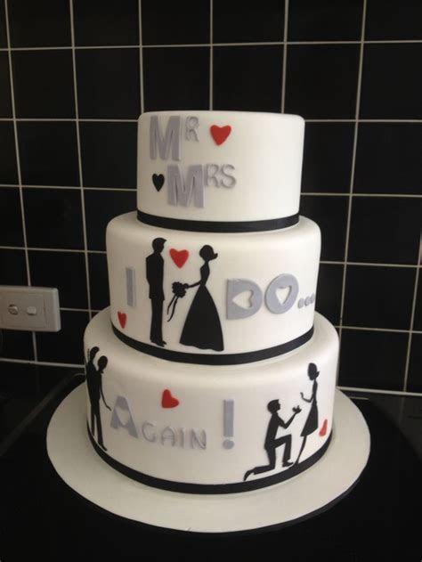 Best 25  Vow renewal cake ideas on Pinterest   25 year