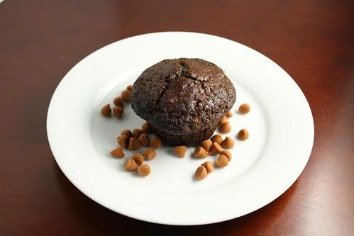 Double Chocolate Butterscotch Muffins