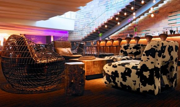 Living Room Lounge at W Scottsdale Hotel