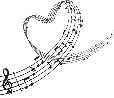 Music Note Heart Clipart Free Download Best Music Note Heart