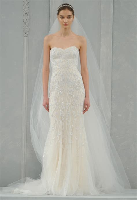 Monique Lhuillier Spring 2015 Bridal Collection   Wedding