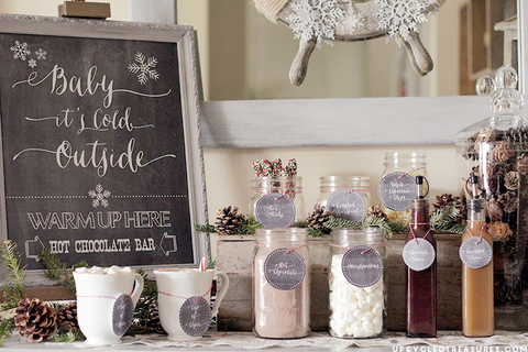 5 Fun And Simple Winter Baby Shower Ideas The Invite Lady
