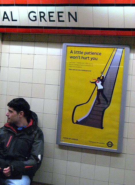 Mad Men Escalator Ad