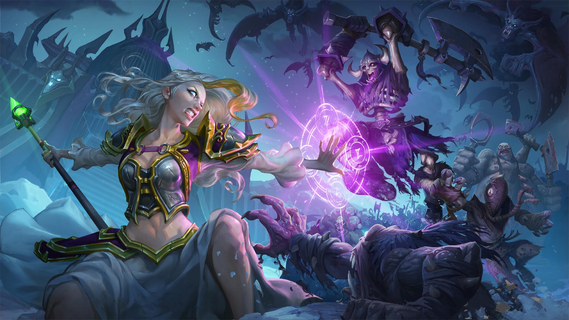 Hearthstone lands Knights of the Frozen Throne next week screenshot