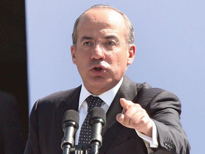 Los correos electrónicos del ex presidente Felipe Calderón fueron espiados en EU.
