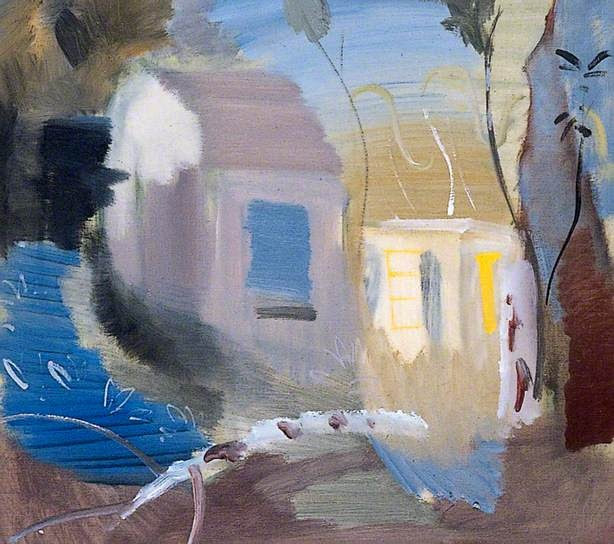 House among Trees - Ivon Hitchens