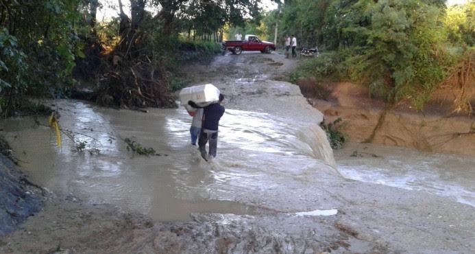 PUERTO PLATA: Mueren cinco personas arrastradas por crecida de río y cañada