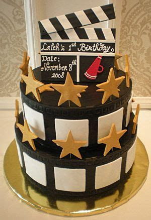 Southern Blue Celebrations: Movie Star / Movie Night Cake