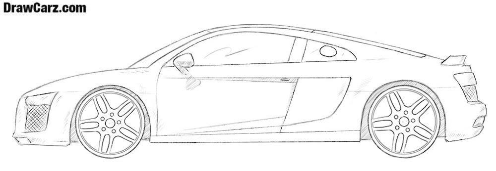 Ausmalbilder Audi A8