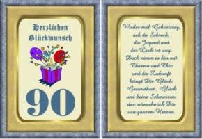 Geburtstag Wünsche Zum 90 Geburtstagsgedichte Glückliche