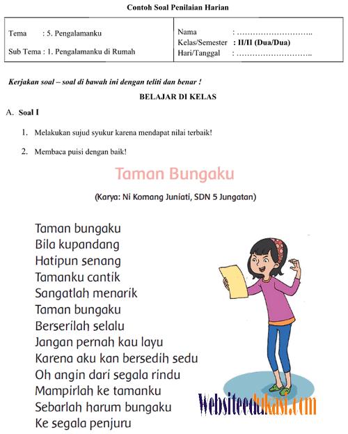 Puisi Ibu Anak Sd Download File Guru