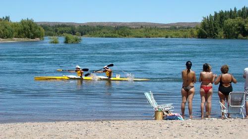 Neuquén - Regata de kayaks